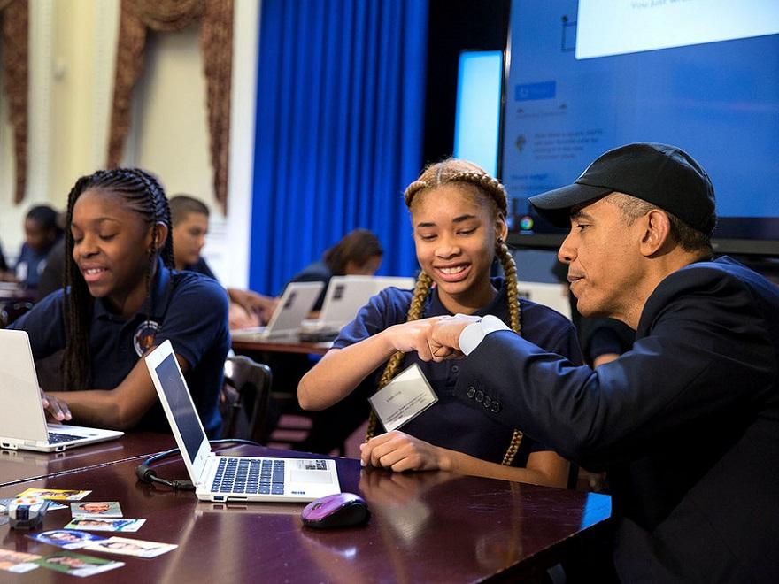 オバマ大統領の大胆な教育支援策に見るコンピューターサイエンスの重要性のアイキャッチ画像
